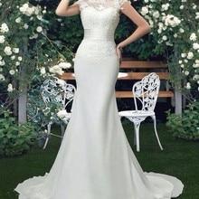 Vestido De Novia Mermaid Scoop Wedding Dresses Court Train S