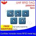 Étiquette en métal D'UHF RFID confidex ironside mirco 915 m 868 m Impinj Monza4QT CBE 5 pièces livraison gratuite durable intelligente D'ABS étiquettes RFID passives|passive rfid tag|rfid tag|rfid metal tag -