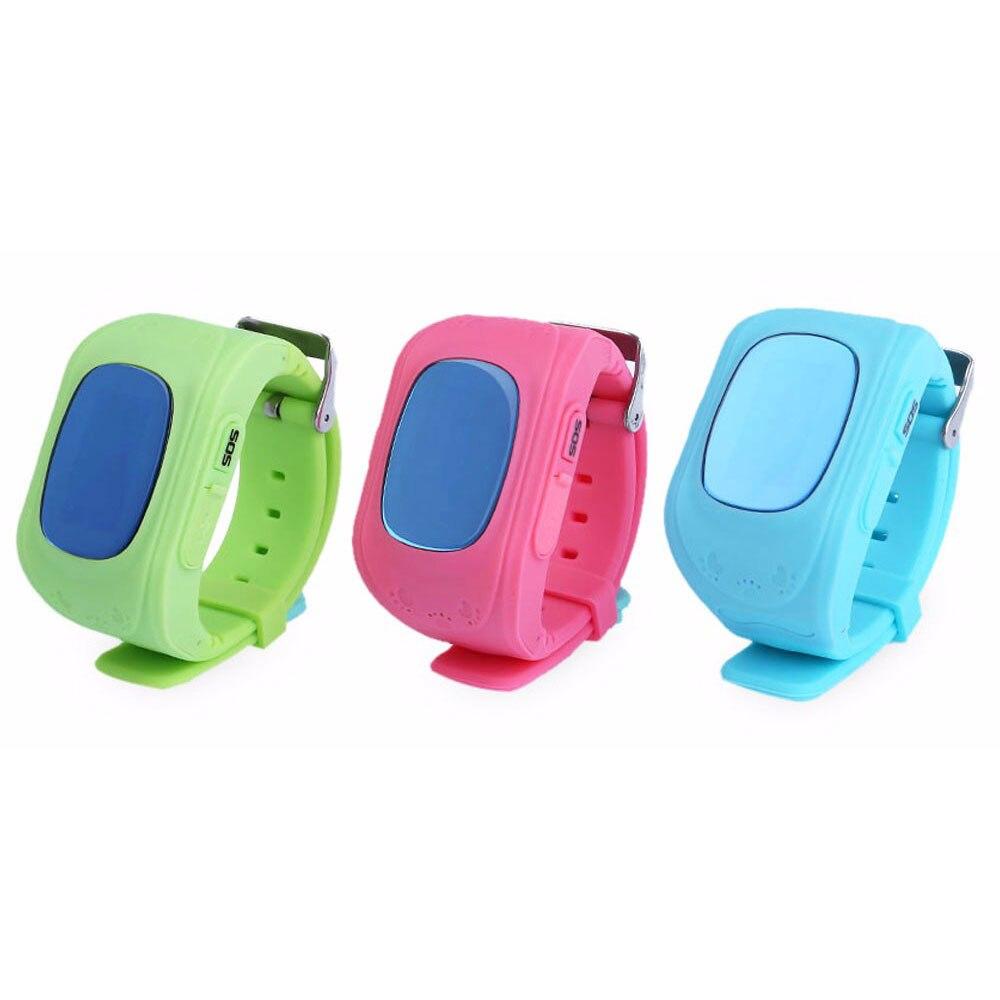imágenes para Reloj inteligente Kid Safe GPS Reloj Localizador SOS Call localizador Rastreador Anti Perdido Monitor de Bebé Regalo Q50 con OLED/LCD tipos