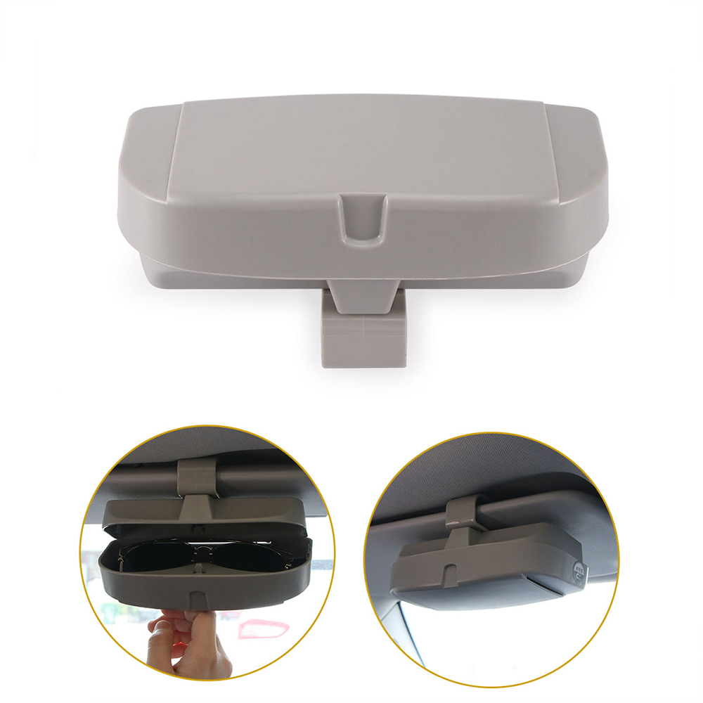 7ffd0f0dff AOZBZ Car Glasses Case Sun Visor Glasses Box Universal Sunglasses ...