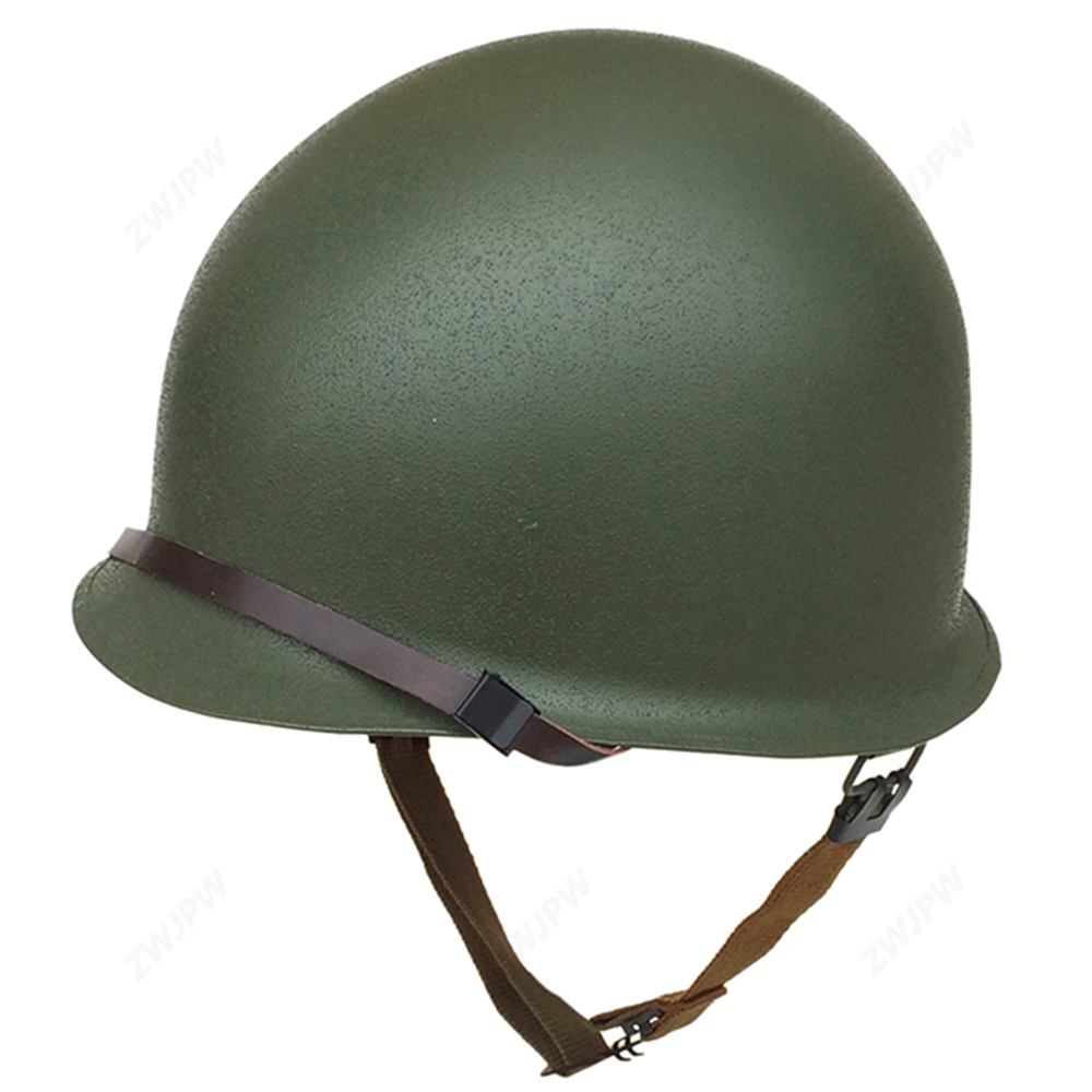 a05b1230 WWII WW2 Replica US Paratrooper M1 Double layer Helmet Outdoor CS Survival  Collection Replica Helmet US