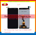 20Pcs/lot DHL EMS 4.7 For Alcatel One Touch Idol 3 OT6039 6039 6039Y Lcd Display Touch Screen Digitizer Assembly Complete Sensor