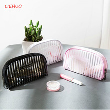Necesses Travel Cosmetic bag  Organizer Waterproof Wash Portable Clutch Female Transparent finishing package30