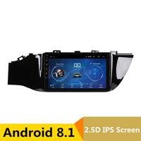 9 2.5D IPS Android 8.1 Car DVD Multimedia Player GPS for KIA Rio 4 K2 2017 2018 audio car radio stereo navigation Builtin WIFI