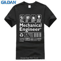 Printed T Shirt Cotton T Shirt New Style Mechanical Engineer Definition Men S Graphic O Neck