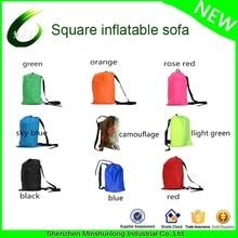 fast inflatable air sleeping bag camping portable air sofa lazy bag beach bed air hammock nylon 23070cm lazy bag air lounge