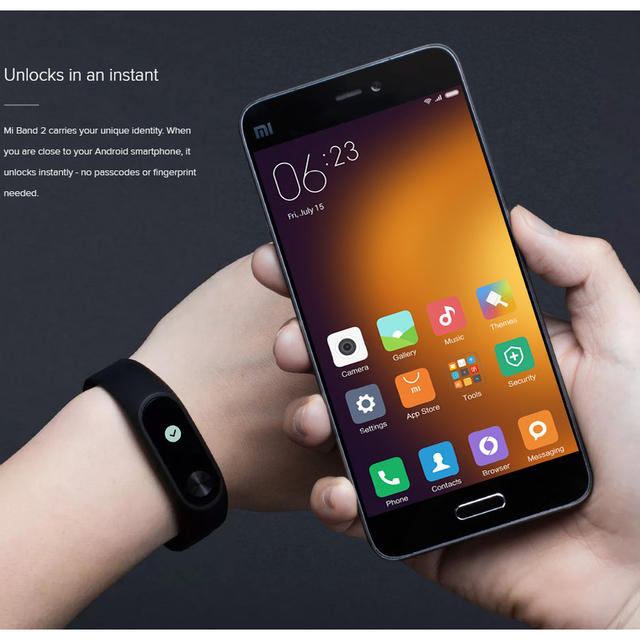 Xiaomi Mi Band 2 Smart Fitness Heart Rate Monitor