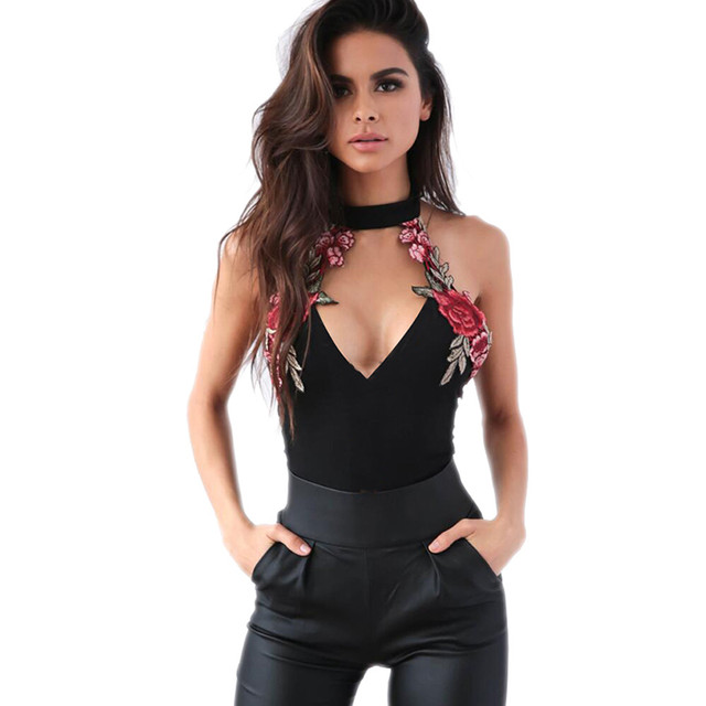 New summer Sexy Women Backless Floral Party Jumpsuit Playsuit ...
