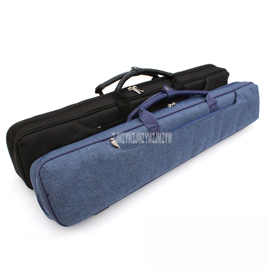 New Clothing Fabric Billiard Cue Bag 7 Hole Suit For Hold 9 Ball 3pcs 1/2 Structure Billiard Snooker Cue High Quality Cue Case