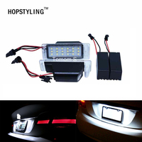 2x No Error LED License Plate Light For GMC Terrain Buick Encore Lacrosse Verano Car Styling