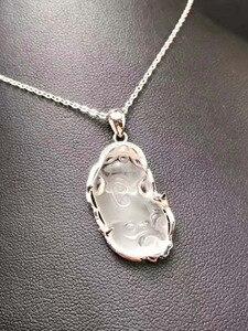 Кулон Pixiu из натурального кристалла 925 пробы с инкрустированным кристаллом rui BeastBrave, Нефритовый Кулон, подвески