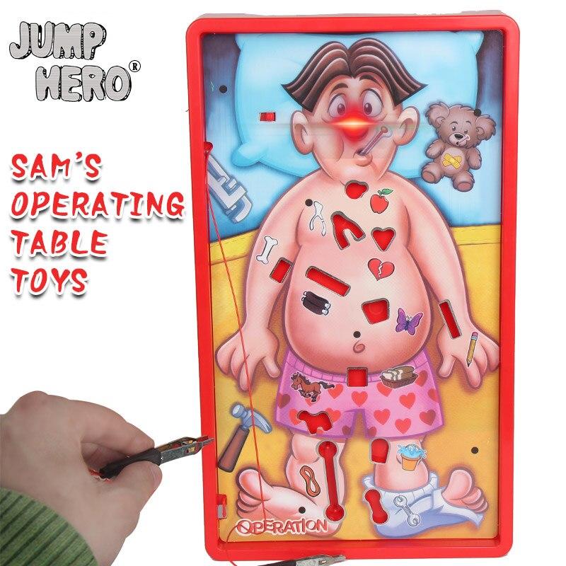 Jeu de société Pour Sam de Chirurgie Médecin Conseil de Jeux Enfants Jouets Enfants Cadeaux Intéressants Intellectuelle Jeux Manuel Capacité # D