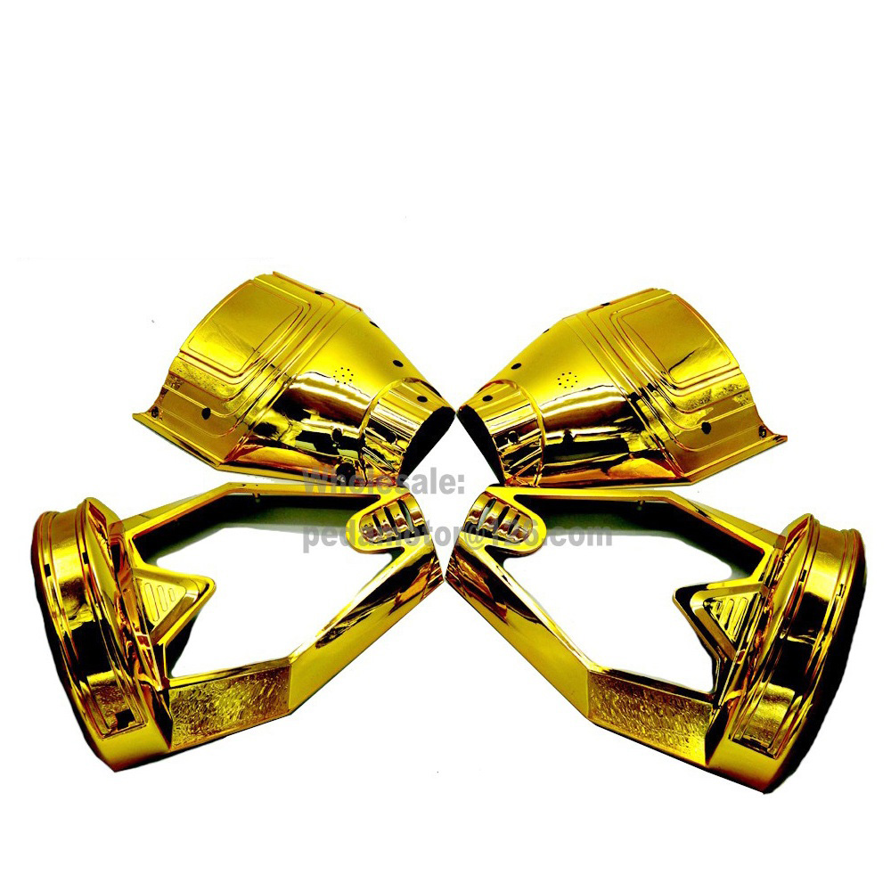 Chrome Gold 8 Smart Self Balancing Scooter Outer Shell Plastic Frame Plastic Cover Hoverboard DIY Replacement Parts 6 5 adult electric scooter hoverboard skateboard overboard smart balance skateboard balance board giroskuter or oxboard