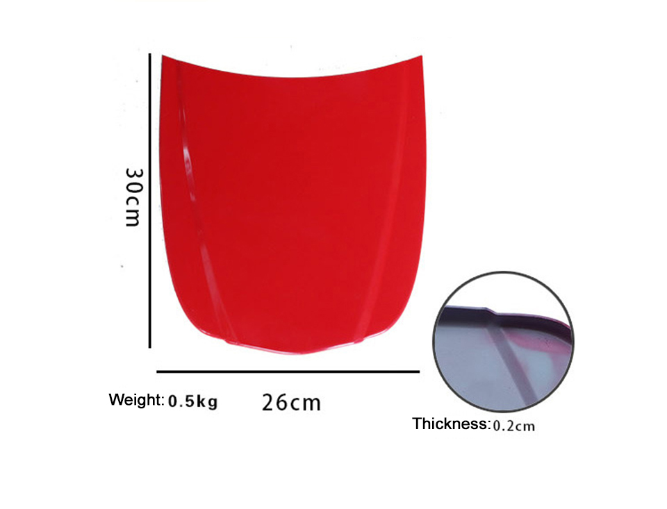 Image 3 - Metal Car Speed Shape 26*30cm Car Bonnet Display Model Painted Hood For Automotive Glass Coating Display MO 179C 1 With Paint-in Car Stickers from Automobiles & Motorcycles
