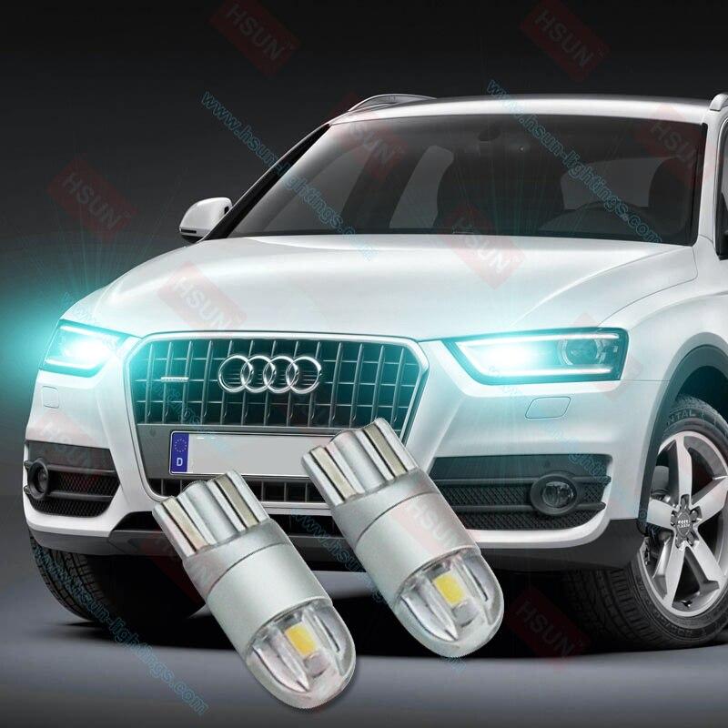 2pcs T10 2SMD 3030 W5W LED Canbus Error Pulsuz Avtomatik Təmizləmə - Avtomobil işıqları - Fotoqrafiya 3
