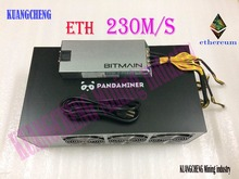 KUANGCHENG Горнодобывающей промышленности PandaMiner 230MH Ethereum GPU Шахтер ETH Zcash XMR Поддерживает Новейшие Эфир Шахтер для Эфира Zcash Добычи