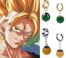 Dragon Ball Stud Earrings And Ring