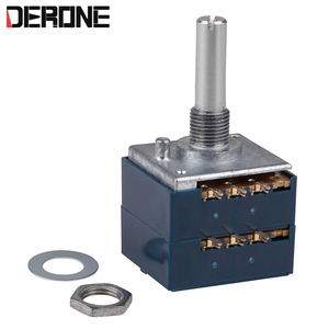 Image 1 - 1 piece 50K Volume potentiometer power  Amplifier volume control ALPS 27 for Audiophile audio  diy