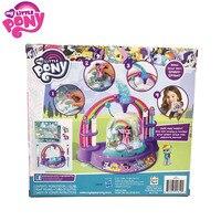 Hasbro Action Toy Figures My little pony glitter globe maker Girl hand made DIY custom crystal ball female birthday gift toy