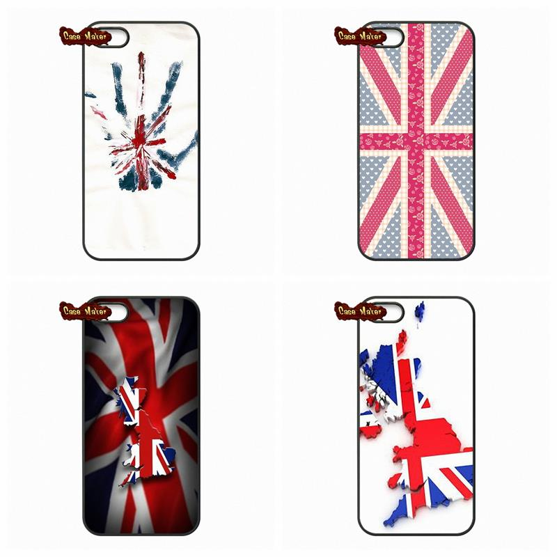 d0e8d2b79f England British English Uk Flag Union Jack Cover Case For iPhone 4 4S 5 5C  5S 6 6S Plus LG G2 G3 G4 HTC One M7 M8 iPod Touch 4 5