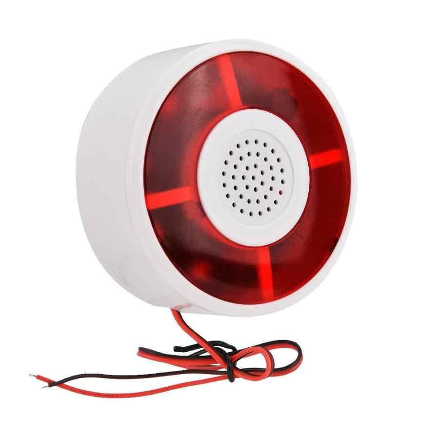 Сигнальная лампа светодиодный динамик сигнализации лампа звуковой сигнал охранная сигнализация мигающий сигнал