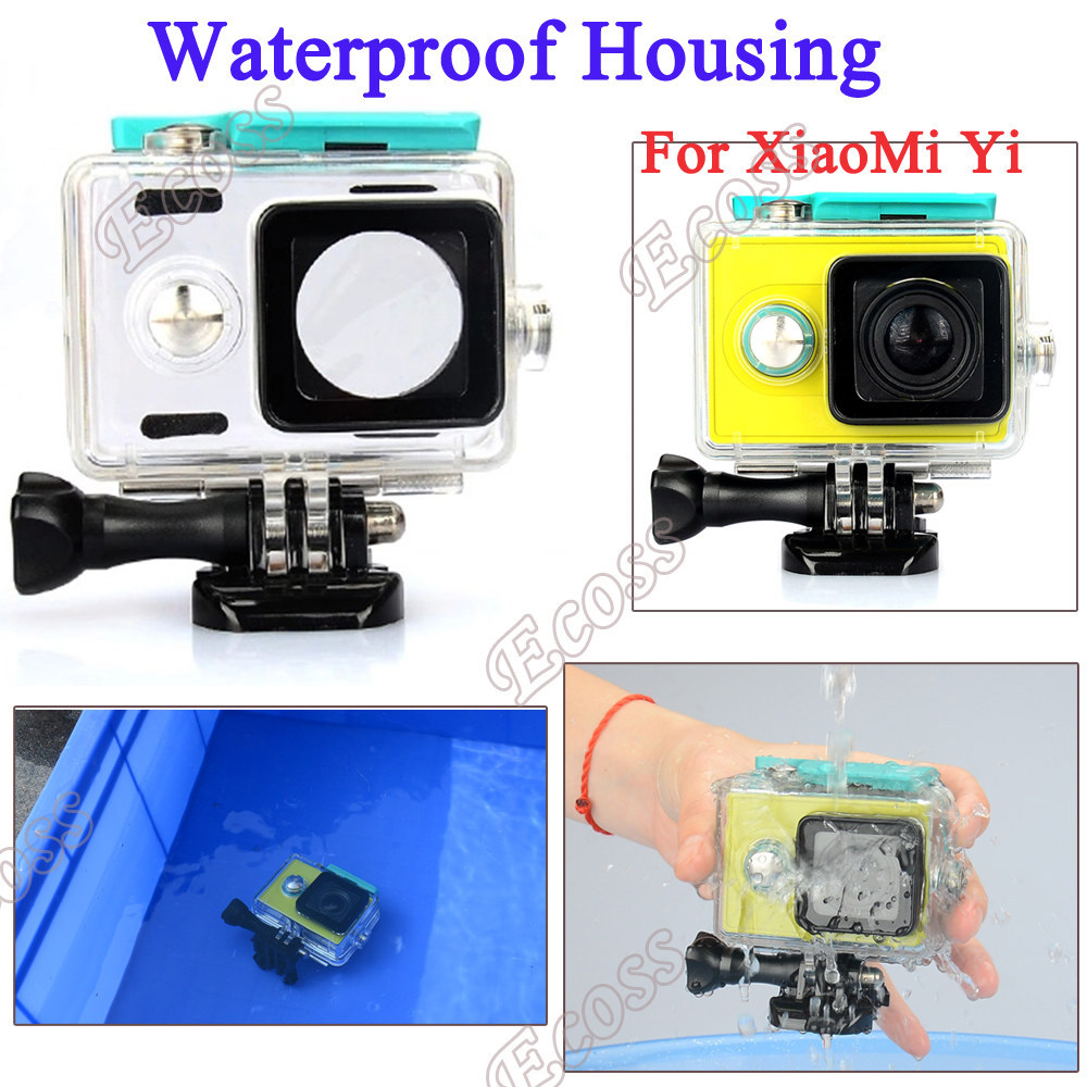 IN STOCK Original KingMa Xiaomi Yi Waterproof diving housing Case Xiaoyi Yi Sport Camera box For