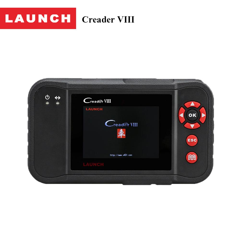LAUNCH Creader VIII Code Reader Creader 8 Automotive Scan Diagnostic Tool Support 4 System OBDII Auto Scanner & Free Gift