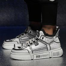 ebbd2b89c1 Diseñador de Hip-Hop zapatos para Hombre Zapatos casuales zapatos de los  hombres de Tenis Sapato Masculino hombre Schoenen de al.