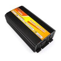 Free shipping solar power inverter 1500W car power inverter 3000w 12dc to 220ac converter