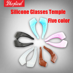 Livraison gratuite lunettes temple, silicone lunettes temple, sport silp temple coloré en gros 200 pcs