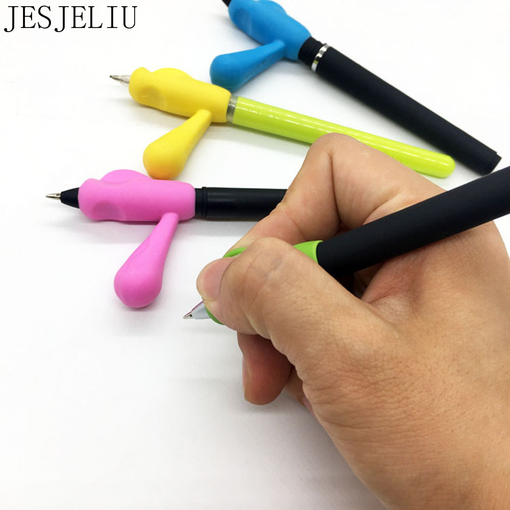 4PCS/Set Children Pencil Holder Pen Writing Aid Grip Posture Correction Tool New Papelaria School Supply Set for Kids