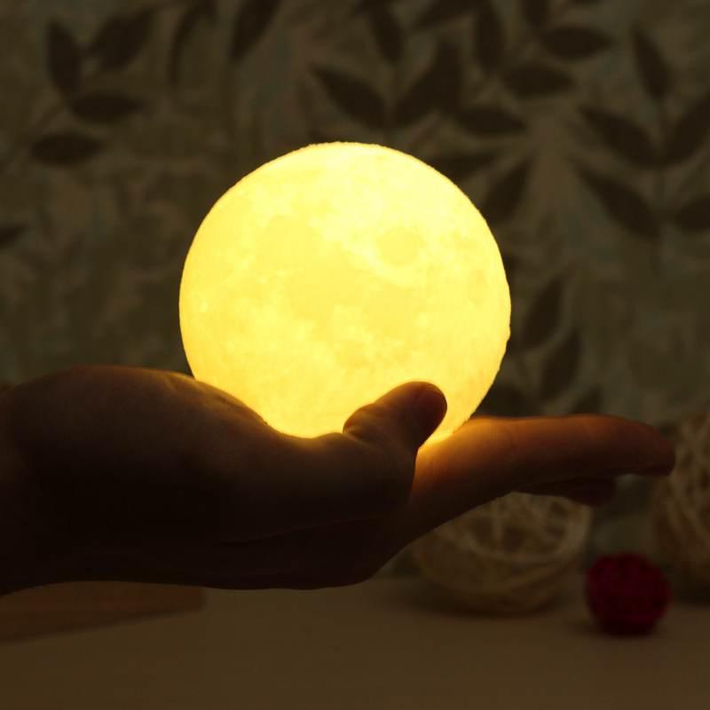 Mayli 8cm Portable 3D Night Light Moonlight Lamp Glow Table Desk Lamp Night  Lamps For Bedroom. Online Get Cheap Moonlight Light Bedroom  Aliexpress com   Alibaba