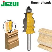 1 pz 8mm gambo architettura carburo di cemento modanatura Router Bit rifilatura fresa per legno per utensili elettrici taglierina del legno