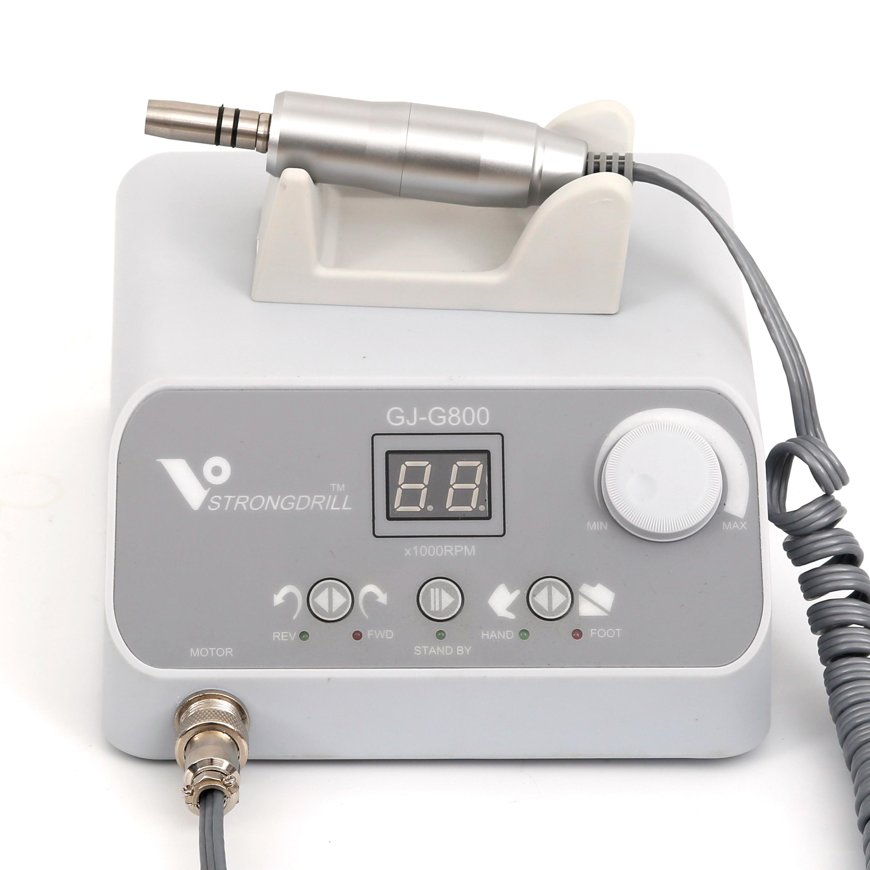 50,000 RPM brushless motor, using foot dental laboratory polishing kit G800 + W101E mobile dental microcomputerTeeth Whitening   -