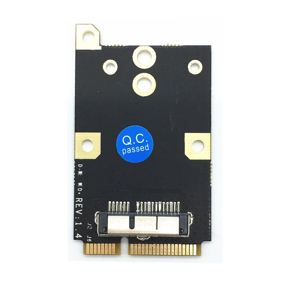 MINI PCI-E  To Wireless Wifi Card BCM94360CD BCM94331CD BCM94360CS BCM94360CS2 BCM943602CS Module For Macbook Pro/Air