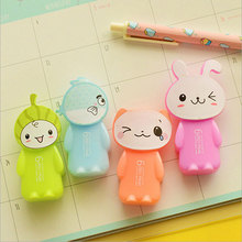 1pcs cute Happy animal correction tape material creative kawaii stationery office school supplies papelaria Alteration 5M