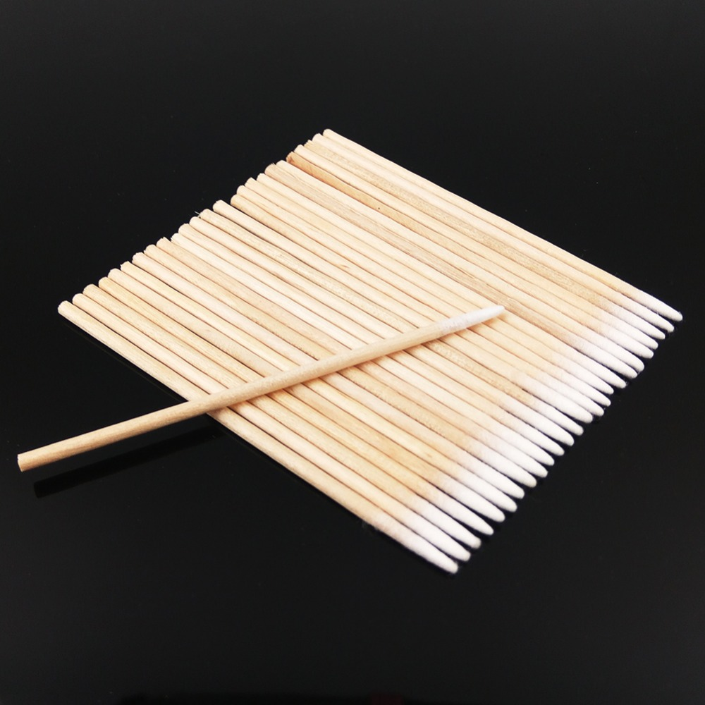 Pretty 100/% Pure Cotton Buds  80 Buds Swabs Soft Make Up Double Ended
