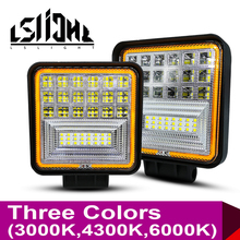 LSlight Work Light Faros 4x4 Accessories Offroad LED Light Bar Worklight Off Road Barra LED Lamp 252W 3000K 4300K 6000K For UAZ