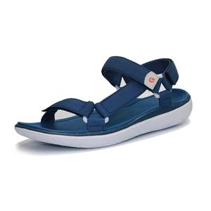 Image 3 - GRITION Women Sandals Fashion Summer Lightweight Beach Ladies Flat Platform Casual Walking Shoes Comfortable Blue Gray Green New