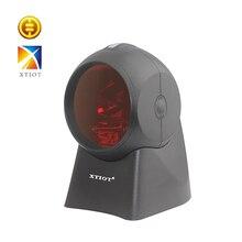 XT7110 Бесплатная доставка лазерный сканер штрихкодов сканирующая платформа лазерный сканер штрих-кода лазерный сканер штрих кодов 1D супермаркет читателя