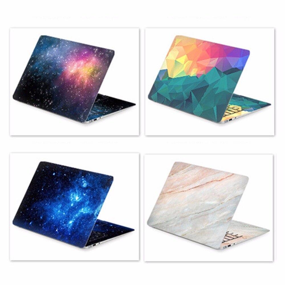 Universal 14/15/17 pulgadas DIY portátil etiqueta engomada etiqueta portátil de la cubierta de la piel para HP/Acer/Dell/ASUS/Sony/Xiaomi/macbook air portátil C26