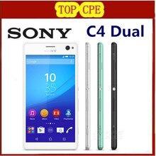 "Unlocked original Sony Xperia C4 Dual Octa-core Android mobile phone Sony E5533 E5343 WIFI GPS 3G&4G 5.5"" 16MP 2GB RAM 16GB ROM"