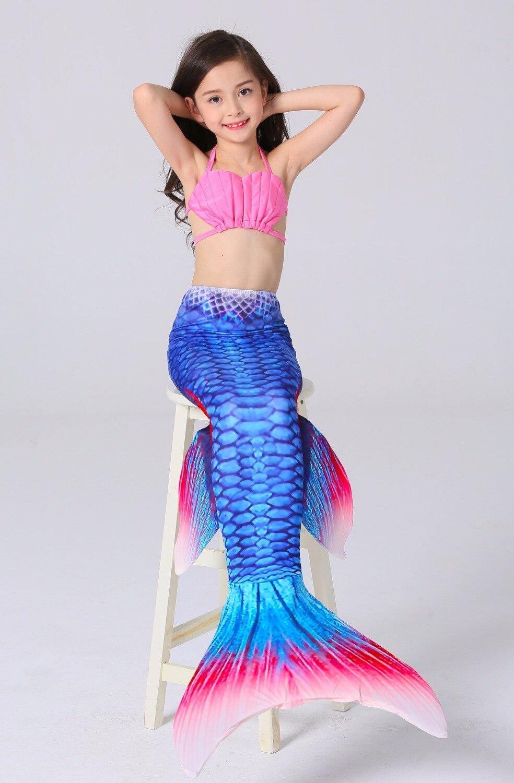 girl mermaid tail custome baby girl kids mermaid tail fancy dress cosplay halloween costumechina - Baby Mermaid Halloween Costume