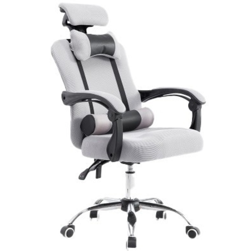 High Quality Boss Live Poltrona Gaming Breathable Cushion Lacework Chair With Footrest Can Lie Ergonomics Office Furniture