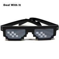 014bc210fc MOLNIYA nuevas gafas de 8 bits MLG pixelada gafas de sol hombres ...