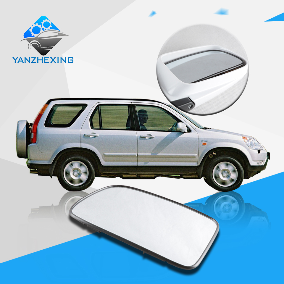 High quality replacement side mirror glass lens oem 76253 spa h01 76203 spa h01 for honda for crv 2002 2006 rd5 rd7 with heated