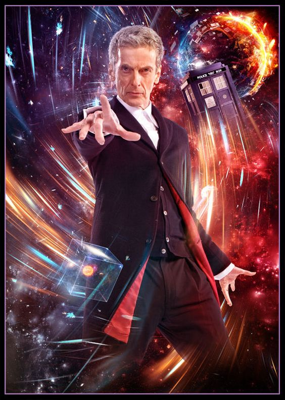 Sci Fi Doctor : Doctor who retro poster