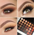 35 Colores de Sombra de Ojos Paleta de Maquillaje naturaleza Resplandor 35O/35 T/35 W/35C/35 P ojo paleta de maquillaje Cálido Mate Shimmer Colores a prueba de agua