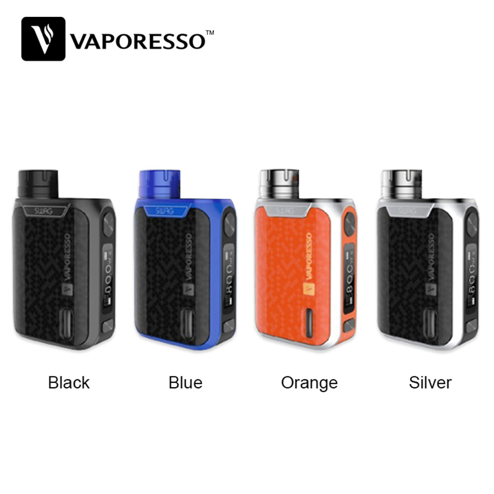 Vaporesso Box MOD Tank-Atomizer Mini TC 18650 Battery 80W E-Cig Original No for NRG Se/nrg