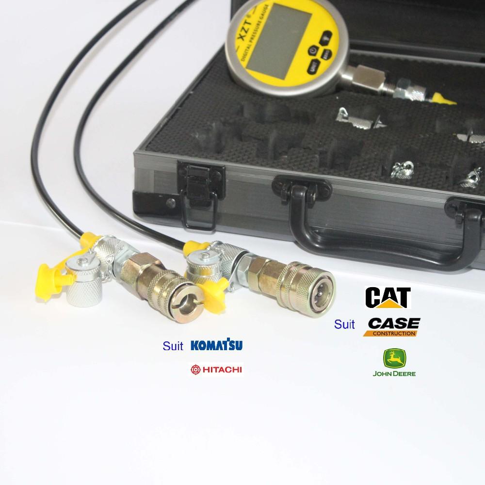 HOT SALE] Excavator Digital Hydraulic Pressure Test Kit XZTK 70MD